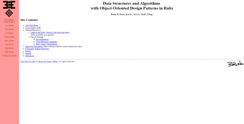 Data Structures Archives - Free Programming E-books