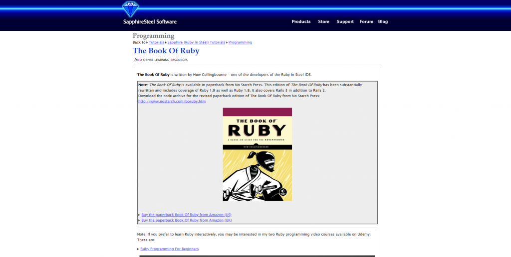 Ruby Archives - Free Programming E-books