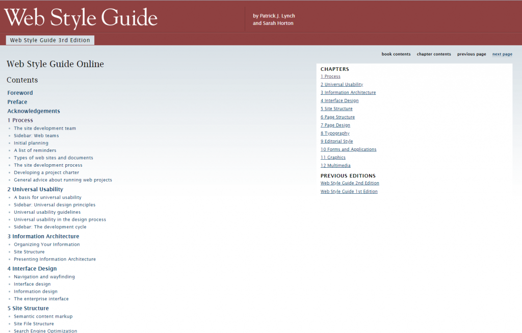 Web Style Guide Basic Design Principles For Creating Web Sites 3rd Edition Free Programming E Books